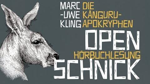 Open-Schnick (Die Känguru-Apokryphen)
