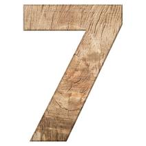 7 white quadrat