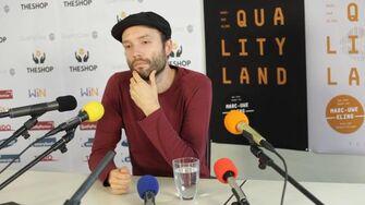 Pressekonferenz Qualityland