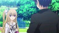 Mayuri and Shido talking