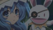 Yoshino taunts Tohka