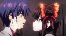 Kurumi and Shido