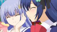 Shiori on date with Miku
