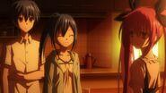 Mana speaking with Kotori