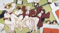 Group asleep