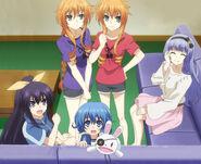 Yamai,Tohka,Miku and Yoshino