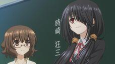 Kurumi the new transfer student