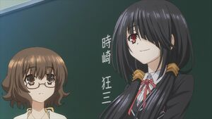 Kurumi the new transfer student