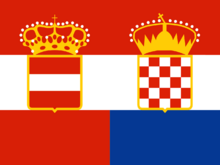 Austro-Croatian Flag