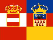 Austro-Transylvanian Flag