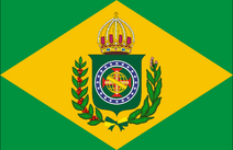Flag of The Empire of Brazil 1822-1889