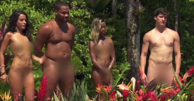 Nude dress undress