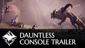 One Dauntless - Console Release Trailer - PlayStation 4, Xbox One, Epic Games store