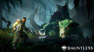 Dauntless drask combat