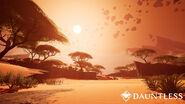 Dauntless arid desert biome