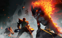 Embermane-reveal-wallpaper-dauntless-2560x1600