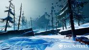 Dauntless snow island