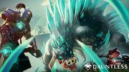 Dauntless quillshot combat