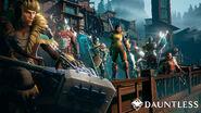 Dauntless armor lineup