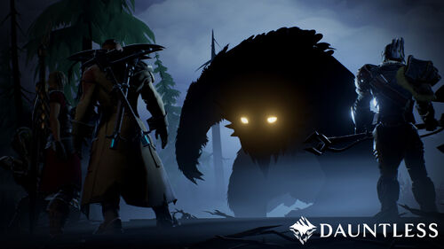 Dauntless shrike at night
