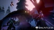 Dauntless shrike combat