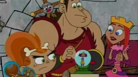 Dave the Barbarian 1x09 Sorcerer Material