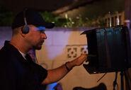 David Ayer filming Street Kings