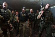 Sabotage DEA raid team