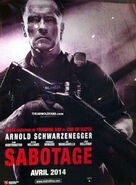The Arnold Fans early poster for sabotage-2014