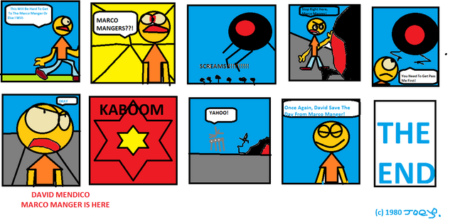 File:David Mendico First Comic.png