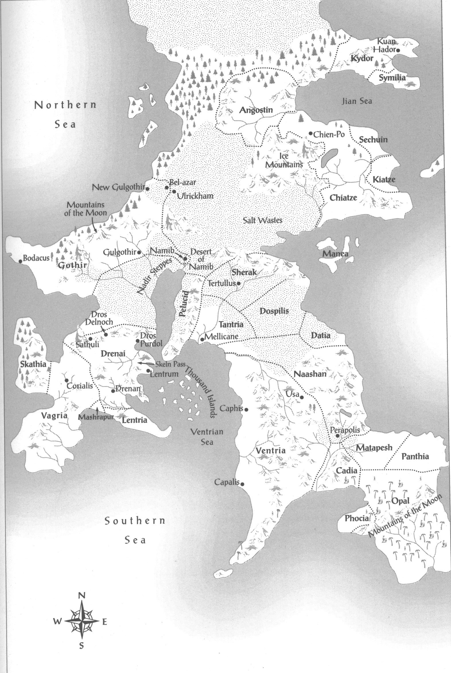 Drenai world david gemmell wiki fandom powered by wikia the official map as featured in white wolf gumiabroncs Image collections