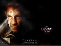 Da Vinci Code poster Teabing