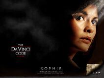 Da Vinci Code poster Sophie