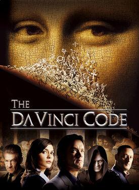 Da Vinci Code characters poster