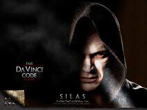 Da Vinci Code poster Silas