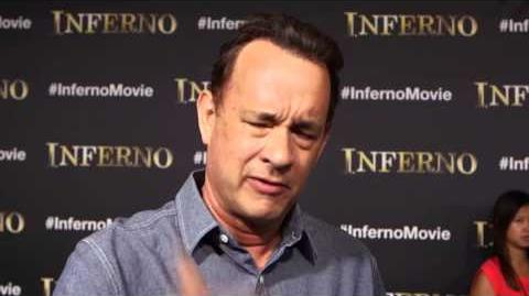 Inferno Tom Hanks Interview on the Florence Movie Set