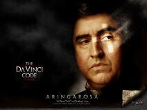Da Vinci Code poster Aringarosa
