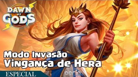 Vingança de Hera - Modo Invasão - Dawn of Gods