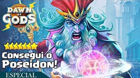Consegui o Poseidon! - Dawn of Gods