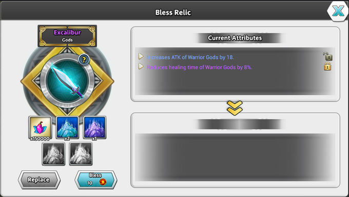 DoG Relic Bless Relic 2