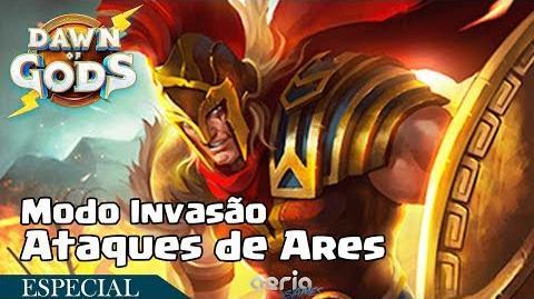 Ataques de Ares - Modo Invasão - Dawn of Gods