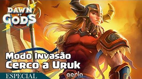 Cerco a Uruk - Modo Invasão - Dawn of Gods