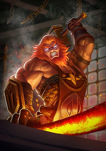 Hephaestus | Dawn of Gods Wiki | FANDOM powered by Wikia