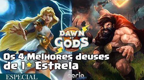 Os 4 Melhores deuses de 1 Estrela - Dawn of Gods