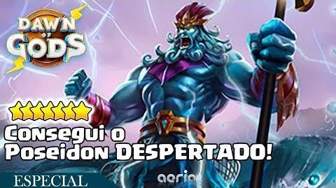 Consegui o Poseidon DESPERTADO! - Dawn of Gods