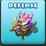 Button-defense
