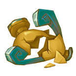 Random Gold Relic shard