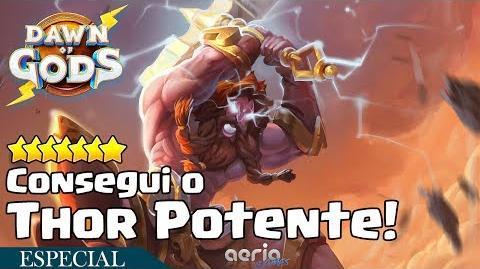 Consegui o Thor Potente! - Dawn of Gods
