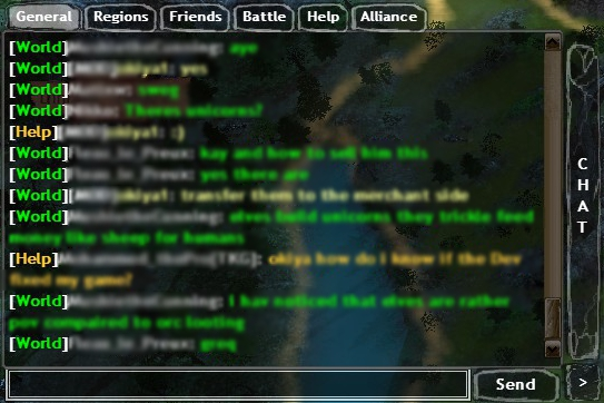 Dawn of Fantasy Chat