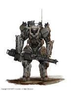 Japanese heavy robot